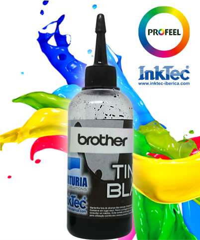 Tinta Corante - BROTHER - Black - INKTEC PROFEEL