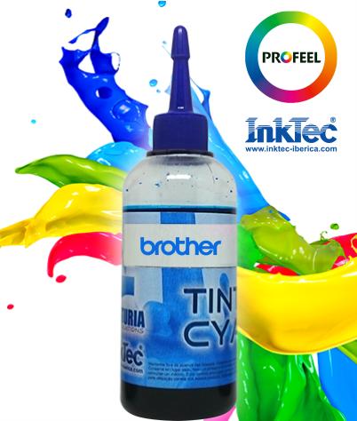 Tinta Corante - BROTHER - Cyan - INKTEC PROFEEL