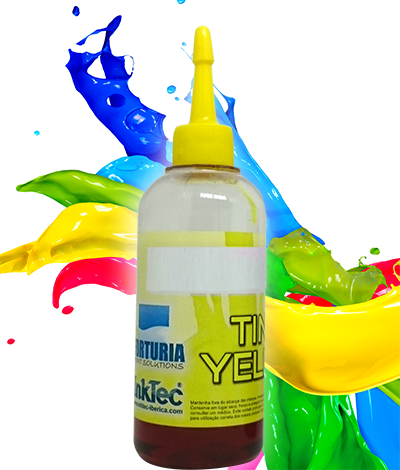 Tinta Corante - HP - Yellow