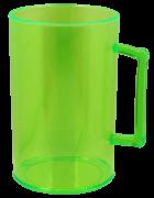 Caneca Acrílico - 350ml - Verde (Não serve para Sublimação)