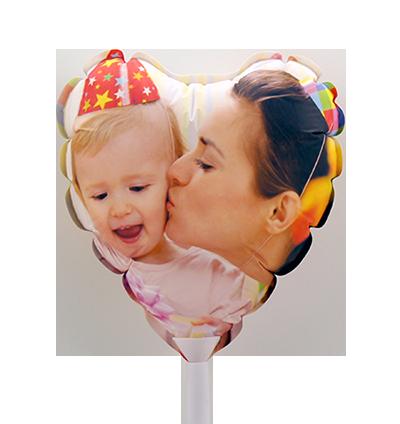 Balão A4 Coração