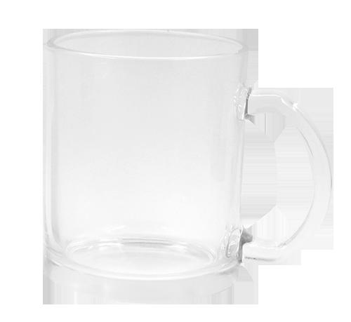 Caneca de Vidro - Transparente -325ml