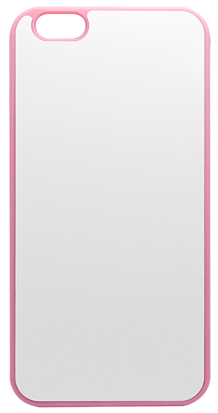 Capa Iphone 6 Plus - Plana - Borracha Flexível - Rosa
