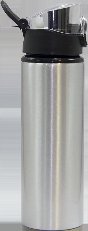 Garrafa Prata em Aluminio - 750ml