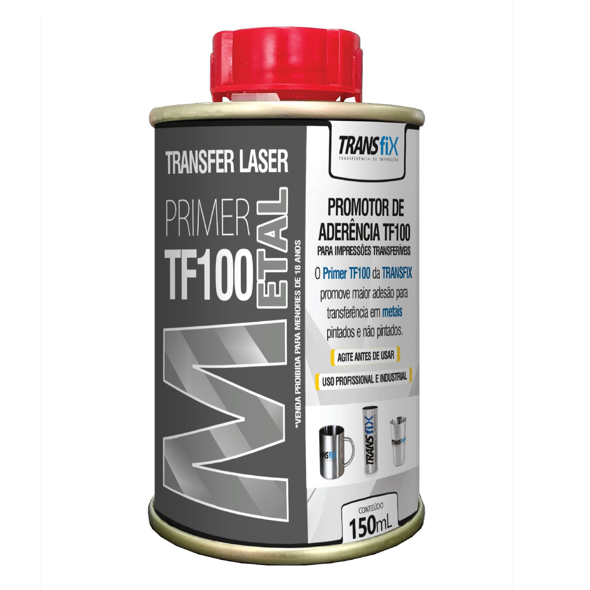 PRIMER TF 100 METAL - 150ml - TRANSFIX