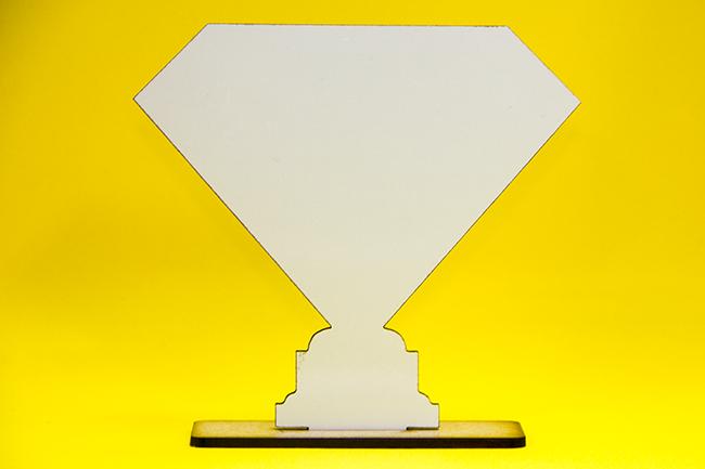 TROFÉU SUPER PAI - 13,4cm X 12,4cm