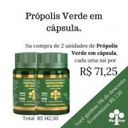2 unidades de Própolis Verde em Cápsula