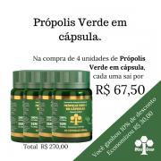 4 unidades de Própolis Verde em cápsula