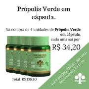 4 unidades de Própolis Verde em Cápsula COD 51
