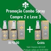 Combo de Spray de Própolis - Compre 2 e Leve 3