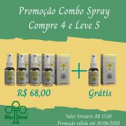 Kit Promocional Combo Spray Compre 4 e Leve 5