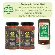 Kit Promocional compre 2 Antepastos e Ganhe um mel Silvestre