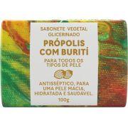 Sabonete Glicerinado Própolis com Buriti 100g - GREEN LIFE