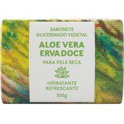 Sabonete Natural Green Life - Aloe Vera Erva Doce 100G