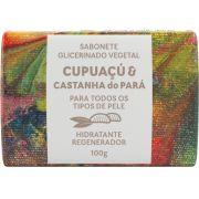 Sabonete Natural Green Life - Cupuaçu e Castanha do Pará 100G