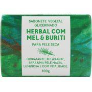 Sabonete Vegetal Glicerinado - Herbal com Mel e Buriti 100g - Green Life