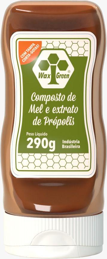 Composto de Mel e Extrato de Própolis - 290g  - WAXGREEN - GREENLIFE