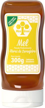 Mel Florada Predominante Flores de Laranjeira 300g  - WAXGREEN - GREENLIFE