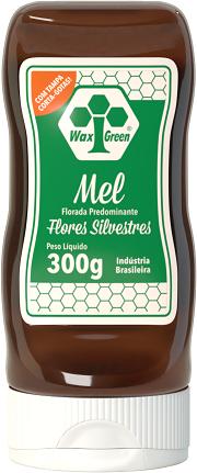 Mel Florada Predominante Flores Silvestres 300g  - Wax Green
