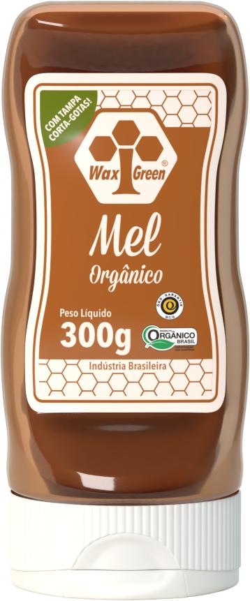 Mel Orgânico 300g  - WAXGREEN - GREENLIFE