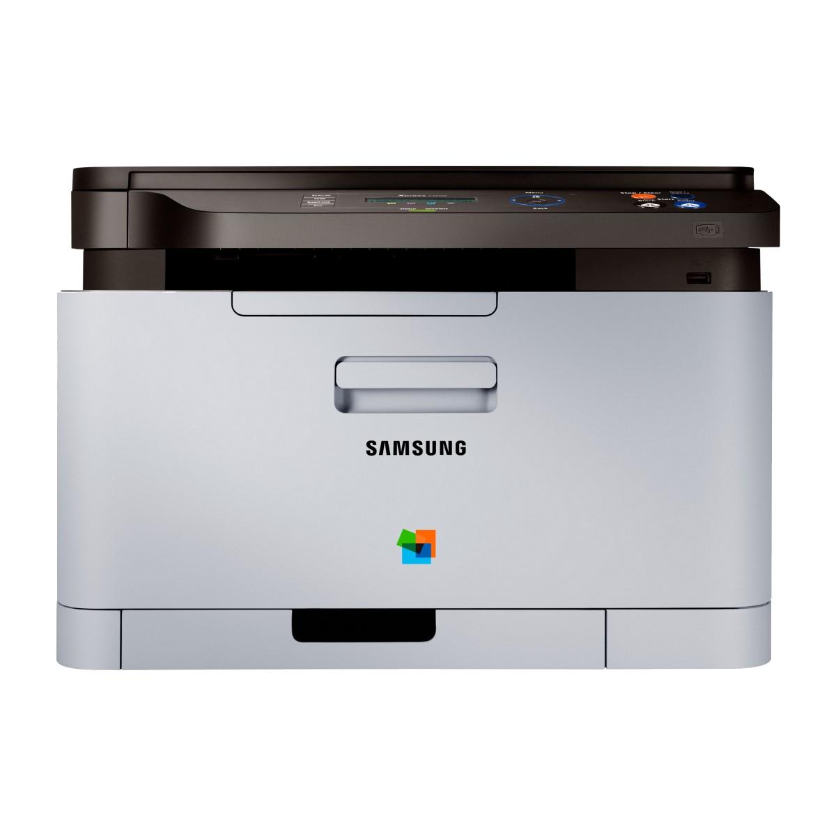 Impressora Multifuncional Samsung Xpress SL-C460W Laser Colorida  - ShopNoroeste.com.br