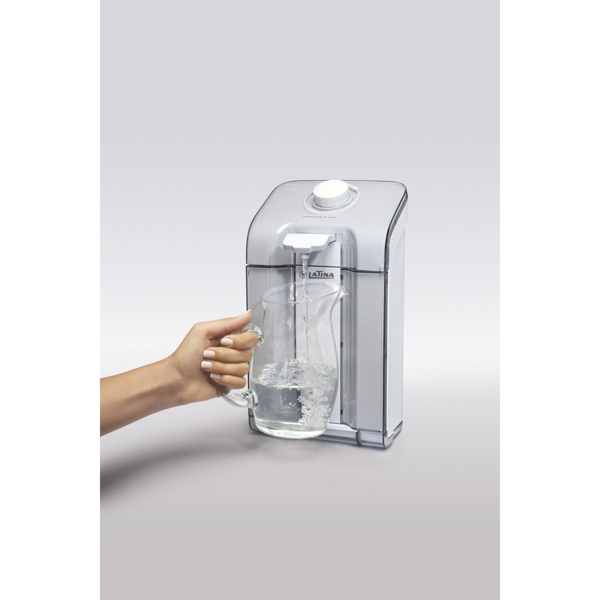Purificador de Água Latina Pn535 Fumê Claro  - ShopNoroeste.com.br