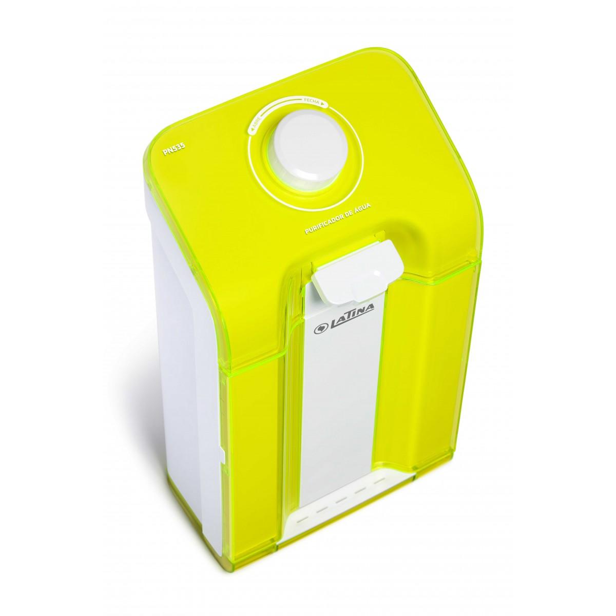 Purificador de Água Latina Pn535 Amarelo  - ShopNoroeste.com.br