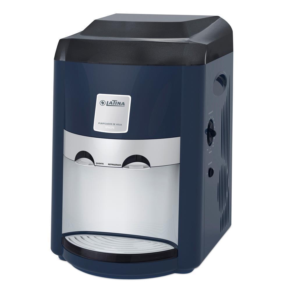 Purificador de Água Refrigerado Latina XPA375 Azul  - ShopNoroeste.com.br