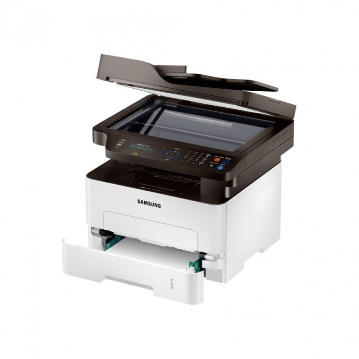 Multifuncional Laser Monocromática Samsung Sl-m2875fd/xab Fax, Duplex, Modo Ecológico, Entrada USB  - ShopNoroeste.com.br