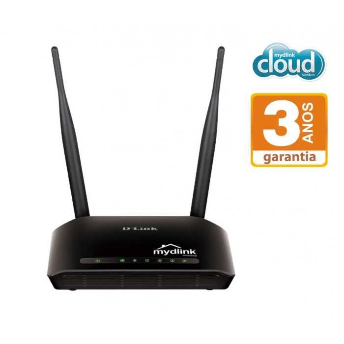 Roteador D-LInk Wireless DIR-905L N 300Mbps  - ShopNoroeste.com.br