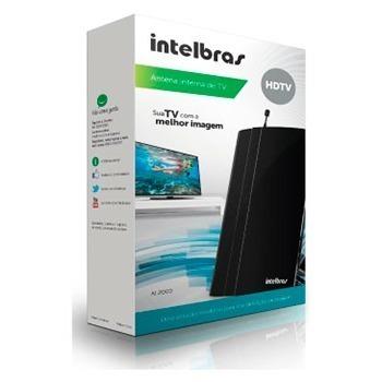 Antena TV Interna Intelbras AI2000 FM/UHF/VHF/HDTV  - ShopNoroeste.com.br