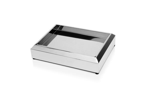 Cinzeiro em Inox Polido CIOIP00 - Só Lixeiras  - ShopNoroeste.com.br