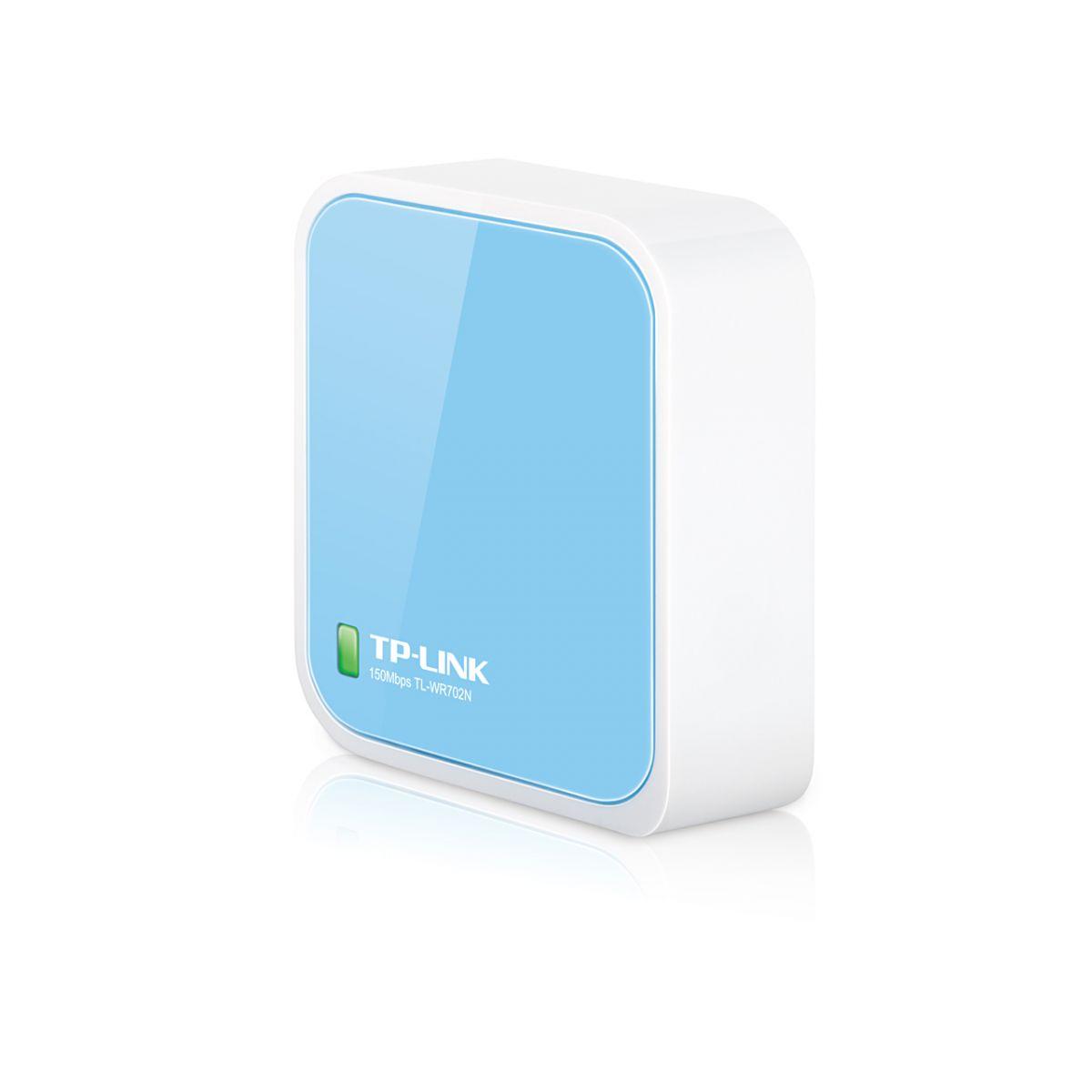 Roteador Portatil TP-Link Wireless N 150Mbps Nano TL-WR702N  - ShopNoroeste.com.br