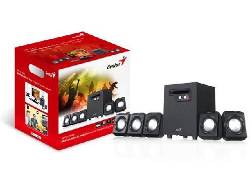 Genius Caixa de Som com SubWoofer 5.1 SW-5.1 1020 26W RMS 31731004103  - ShopNoroeste.com.br