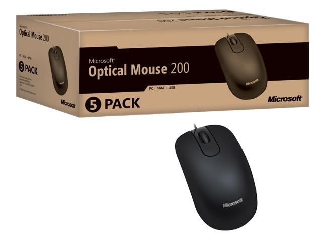 Mouse Óptico USB Microsoft Black 35H-00006 OEM  - ShopNoroeste.com.br