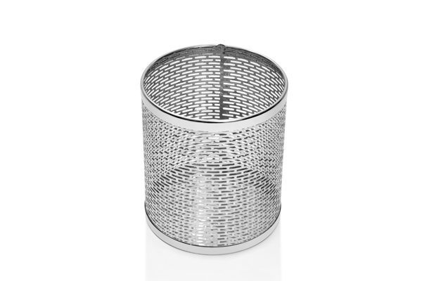 Cesto Perfurado Aço Inox 9,8 Litros CP9IP00F0 - Só Lixeiras  - ShopNoroeste.com.br