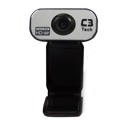 Webcam C3Tech USB 12 MegaPixels Plug e Play Full HD 1080P WB-383  - ShopNoroeste.com.br