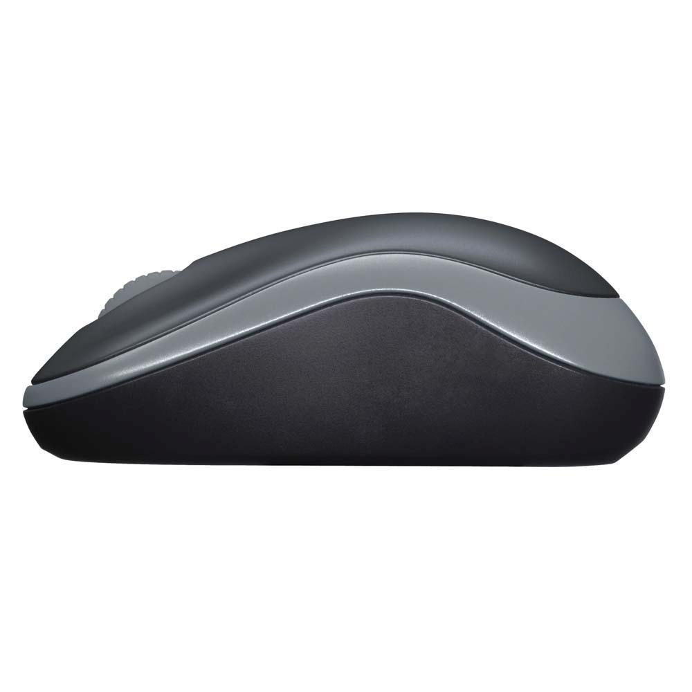 Mouse Sem Fio Logitech Wireless Mouse M185 - USB - 2.4GHz - 910-02225  - ShopNoroeste.com.br