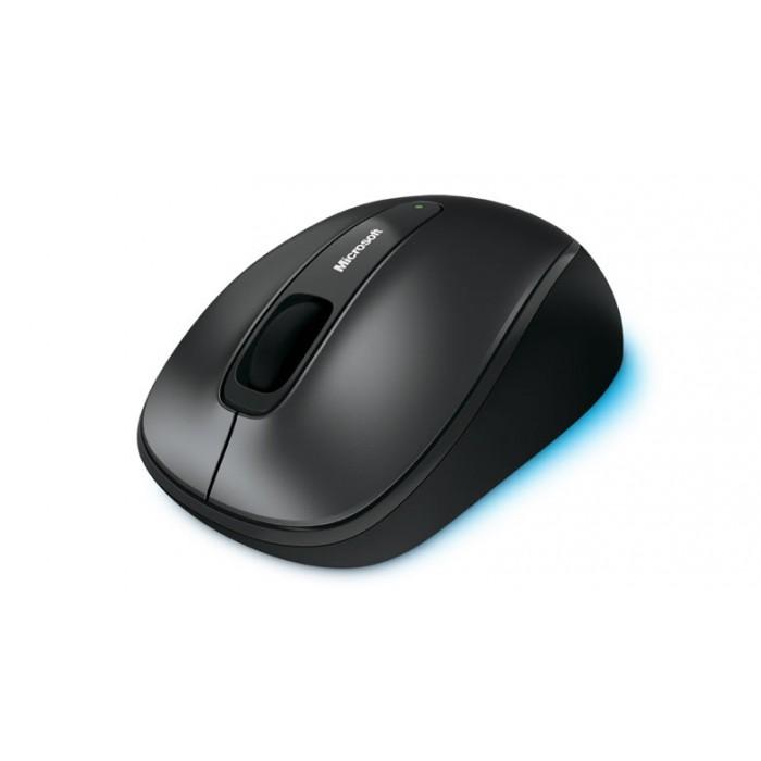 Mouse Óptico Microsoft Sem Fio  2.4Ghz Preto - 4FD-00025  - ShopNoroeste.com.br
