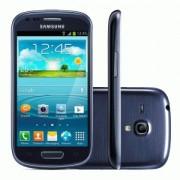 Smartphone Samsung Galaxy S III I9300 Grafite Blue Android 4.0 3G Câmera 8MP Wi-Fi GPS Memória Interna 16GB