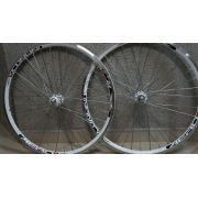 Roda para Bicicleta Aero Infinity R1 Aro 26, 36 Raios Branca  - Projema