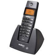 Telefone sem Fio com Identificador de Chamadas Viva-Voz e Display Iluminado TS60V Preto - Intelbras