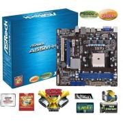 Placa Mãe AsRock A55M-HVS FM1 A6/A8,16GB,DDR3,SATA,D-SUB,HDMI
