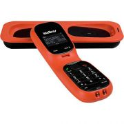 Telefone sem Fio com Viva-Voz, Capacidade 5 Ramais e Babá Eletrônica TS80V Coral - Intelbras