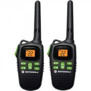 Radio Comunicador Motorola 32 KM Par MD200 MR Preto