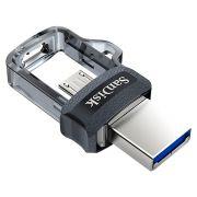 Pen Drive Para Smartphone Sandisk Ultra Dual Drive USB 3.0 32GB