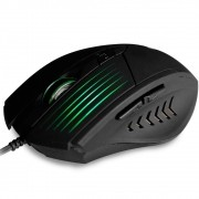 Mouse Gamer Óptico USB 6 Botões MG-10BK 2400DPI - C3 Tech