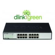 Switch Rack D-Link 16 Portas 10/100/1000Mbps DGS-1016D