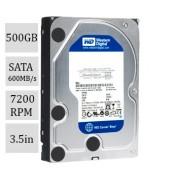 HD WD SATA3 500.0GB 7200RPM Caviar Blue 6Gb/s WD5000AAKX
