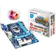 Placa-Mãe Gigabyte Core i3/i5/i7 LGA1155 - GA-B75M-HD3 T